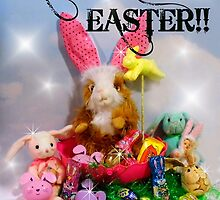 Rhinos Excellent Easter!! by WildestArt
