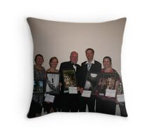 Winners are grinners! Throw Pillow