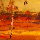 Along the dirt road Smiths Gully VIC Australia by Margaret Morgan (Watkins)