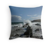 Victor Harbor-petrol cove Throw Pillow