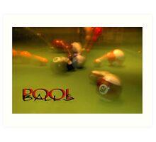 Pool Balls © Vicki Ferrari Art Print