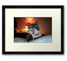 Exhausted © Vicki Ferrari Framed Print