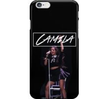 Camila Performing! iPhone Case/Skin