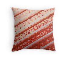 Diagonal Bars Throw Pillow