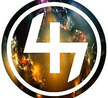 47 (4th and 7th Chakra) Nebula by Telic