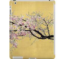 Sakura on Gold iPad Case/Skin