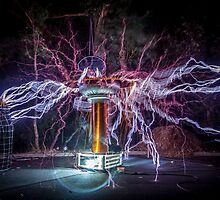Electric Spider by robcaddy