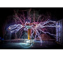 Electric Spider Photographic Print