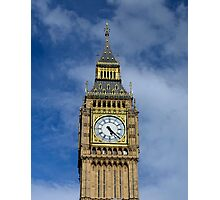 Big Ben in the afternoon sun Photographic Print