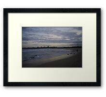 Landscapes: The Headlands, Barrack Point V Framed Print