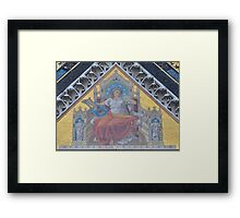 Literary Muse on the Prince Albert Memorial Framed Print