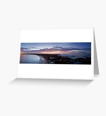 Newcastle sunrise Greeting Card