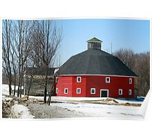 Welch Round Barn Poster