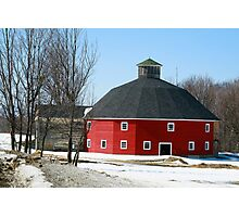 Welch Round Barn Photographic Print
