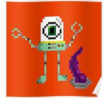 Robot Eye Poster