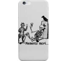 Wine with the Devil iPhone Case/Skin