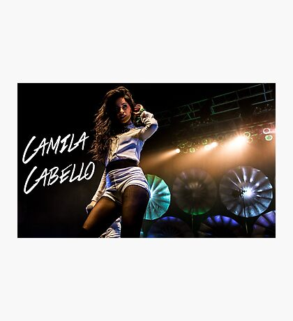 Camila Performing 2.0 Photographic Print