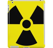 Ionizing Radiation sign - U+2622 iPad Case/Skin
