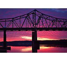 Riverfront Sunrise #2 Photographic Print