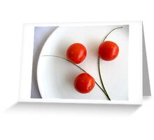 Art of Tomatoes Greeting Card