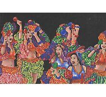 Fiesta! Dance Like You Mean It! Photographic Print
