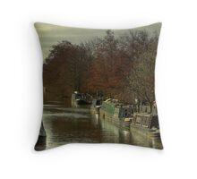 Whilton, Grand Union Canal 2 Throw Pillow