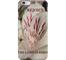The Lord is Risen ipad case iPhone Case/Skin