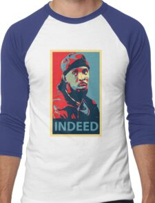 Omar The Wire Indeed Men's Baseball ¾ T-Shirt