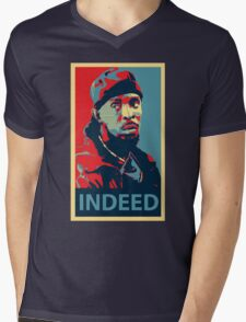 Omar The Wire Indeed Mens V-Neck T-Shirt
