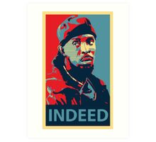 Omar The Wire Indeed Art Print