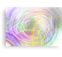ambient circles Canvas Print