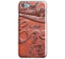 Rusty Ford Lettering iPhone Case/Skin