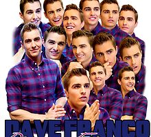 Dave Franco Collage Edit Design by FangirlParadise