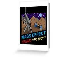 NEStalgia: Mass Effect Greeting Card