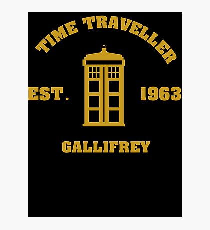 Doctor Who Time Traveller Gallifrey Photographic Print