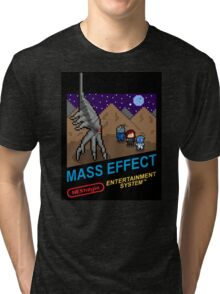 NEStalgia: Mass Effect - FemShep Version Tri-blend T-Shirt