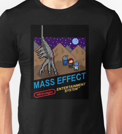 NEStalgia: Mass Effect - FemShep Version Unisex T-Shirt