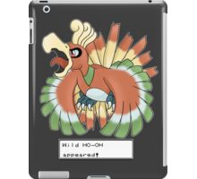 Wild Ho-Oh Appeared! iPad Case/Skin