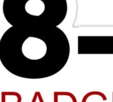38-1! Sticker