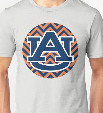 Chevron Auburn Unisex T-Shirt