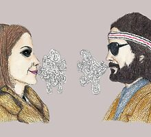Margot and Richie Tenenbaum by greyhoundredux