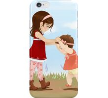 Little Sisters iPhone Case/Skin