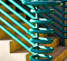 Rails And Stairs by phil decocco