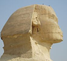 Head of the Sphinx by Shoaib Zaheeruddin