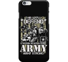 UNITED STATES ARMY iPhone Case/Skin