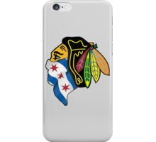 Blackhawks Chicago Flag iPhone Case/Skin