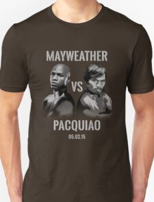 Mayweather VS Pacquiao 2015 T-Shirt