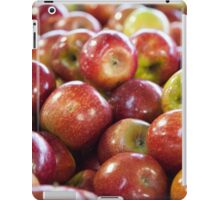 Apples at the Fruit markets iPad Case/Skin