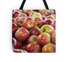 Apples at the Fruit markets Tote Bag