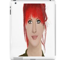 Hayley Williams digital oil pastel iPad Case/Skin